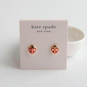 Kate Spade Animal Party Ladybug Studs Earring